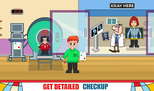 Pretend Hospital Doctor Care Games : My Life Town  screenshots 2