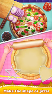 Make Pizza Cooking Food Kitchen