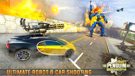 Penguin Robot Car Game: Robot Transforming Games 5 screenshots 2