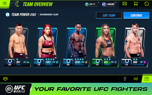 EA SPORTSu2122 UFCu00ae Mobile 2 1.5.04 screenshots 7