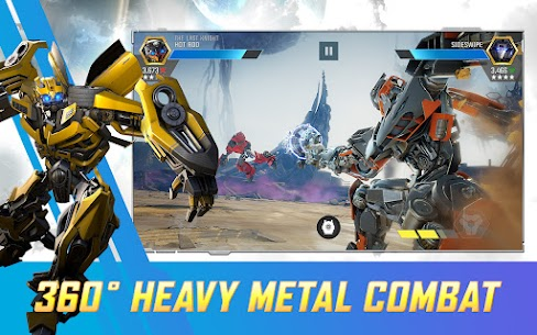 Transformers Forged to Fight MOD APK 3