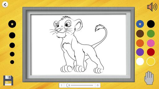 drawings for children: paint animals screenshot 1