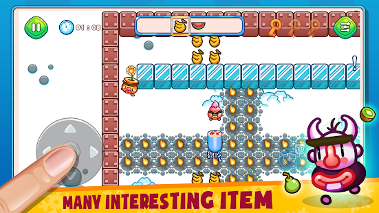 Fruit & Ice Cream - Ice cream war Maze Game 6.5 Screenshots 2