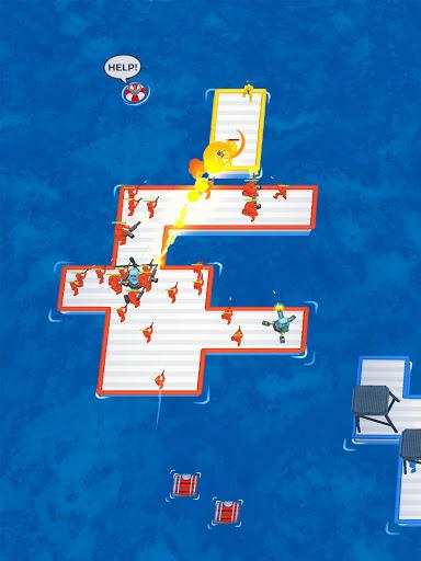War of Rafts: Crazy Sea Battle  screenshots 12