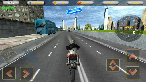 city motorbike racing screenshot 3