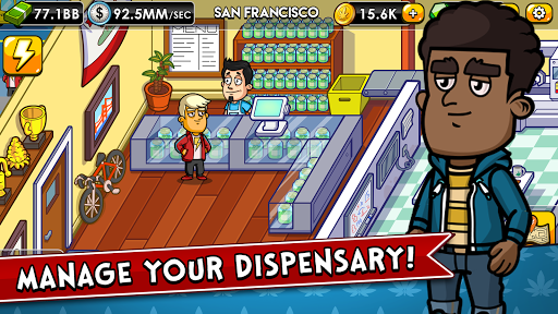 Weed Inc: Idle Tycoon apkpoly screenshots 3