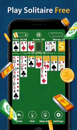 Solitaire - Make Free Money & Play the Card Game 1.8.8 screenshots 1