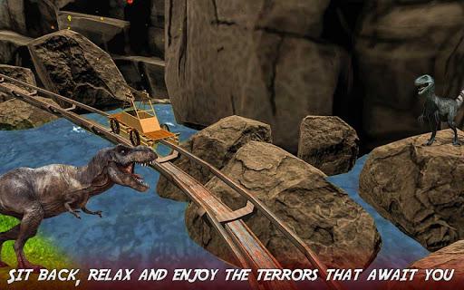 Real Dinosaur RollerCoaster VR apktram screenshots 5