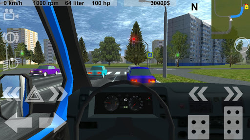 Russian Light Truck Simulator 1.5 screenshots 9
