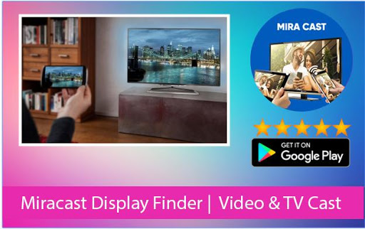 Miracast Display Finder |  Video & TV Cast 1.05 screenshots 1