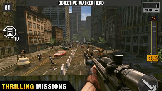 Sniper Zombies: Offline Shooting Games 3D apk