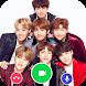BTS Video Call : Fake Video Call BTS
