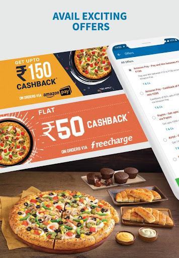 Domino's Pizza - Online Food Delivery App 9.2.45 Screenshots 10