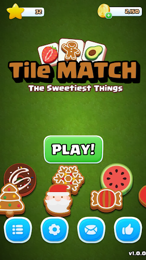Tile Match Sweet - Classic Triple Matching Puzzle  screenshots 4