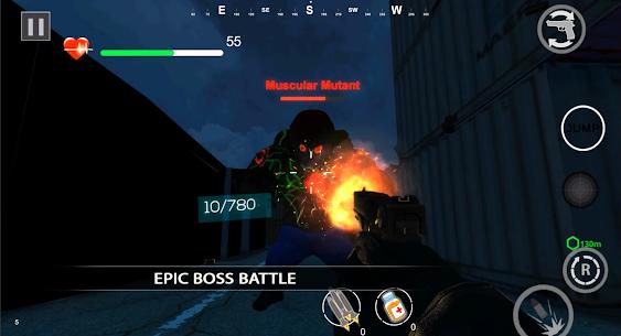 Zombie Shooter Dead Terror Mod Apk (God Mode) 2