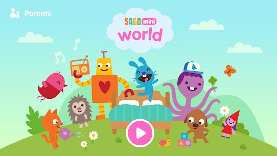 Sago Mini World Mod Apk: Kids Games (All Games Unlocked) 1