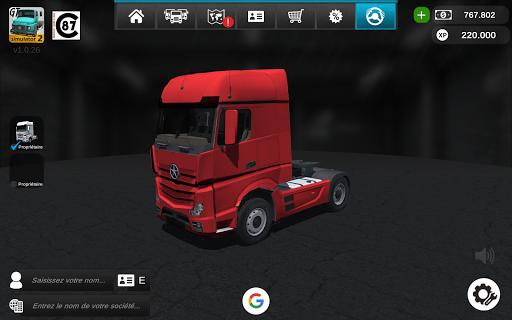 Code Triche Grand Truck Simulator 2 APK MOD (Astuce)