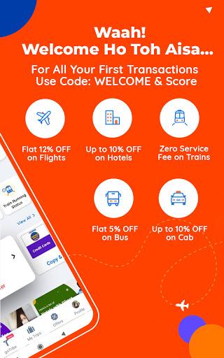 Goibibo Travel App-Hotel, Flight, IRCTC Train, Bus apktram screenshots 3