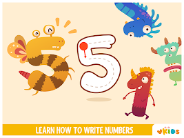 Vkids Numbers - Counting Games For Kids