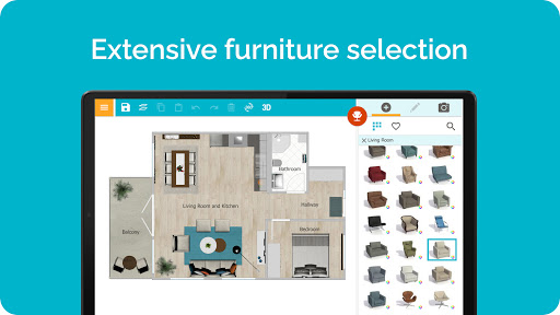 RoomSketcher   Draw Floor Plans & Home Design 8.01.001 Screenshots 5