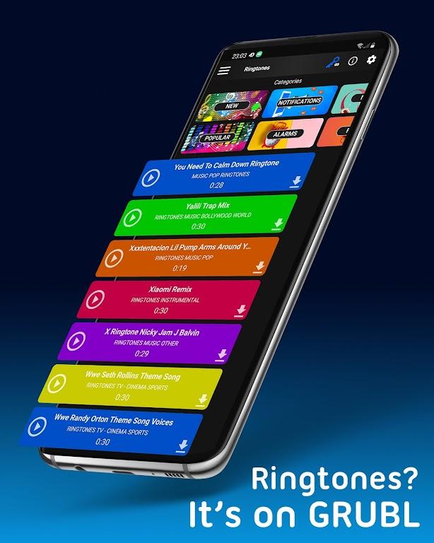 Live Wallpapers 4Κ/HD & Ringtones GRUBL™  poster 4