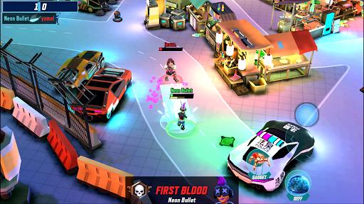 Gridpunk - 3v3 PvP Battle Arena Apkfinish screenshots 6