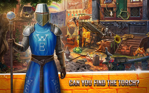 mystery castle hidden objects - seek and find game screenshot 1