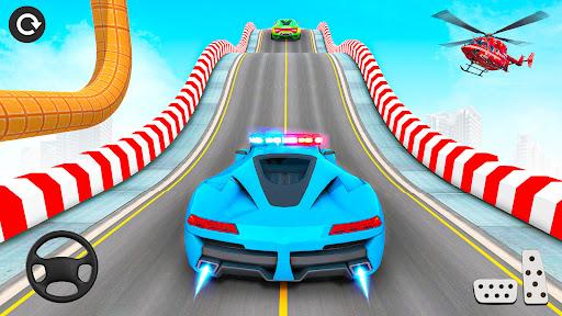 Police Car Stunts: Car Games apkpoly screenshots 6