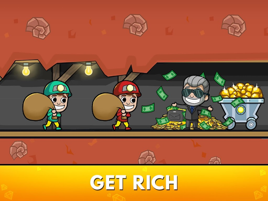 Idle Miner Tycoon: Mine & Money Clicker Management  poster 9
