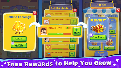 Pet Idle Miner: Farm Tycoon u2013 Take Care of Animals apkpoly screenshots 4