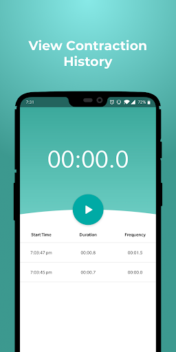 My Contraction Timer  Screenshots 1