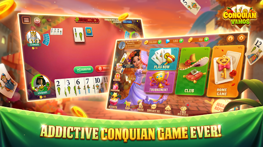 Conquian Vamos - The Best Card Game Online android2mod screenshots 1