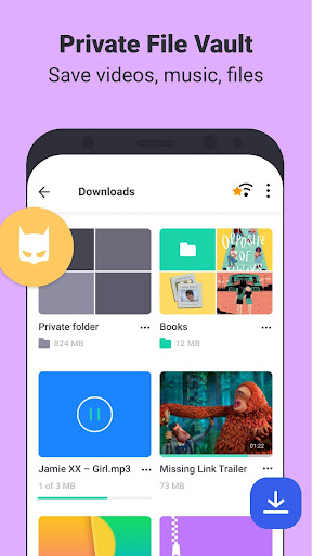 Aloha Browser Turbo - private browser + free VPN screen 2