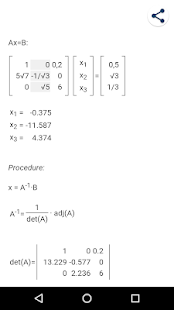 Linearibus - Matrix calculator
