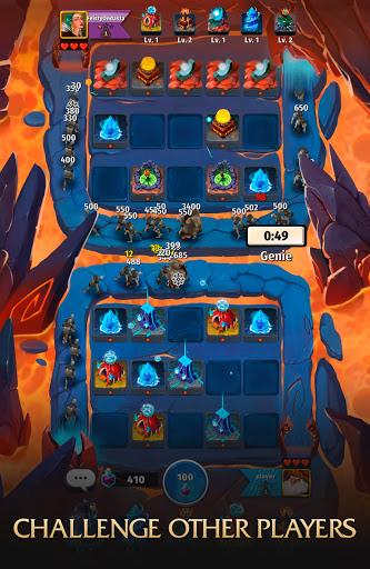 Random Clash - Epic fantasy strategy mobile games  screenshots 8