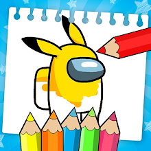 Among Us Coloring Book: Create Your Own Imposter icon