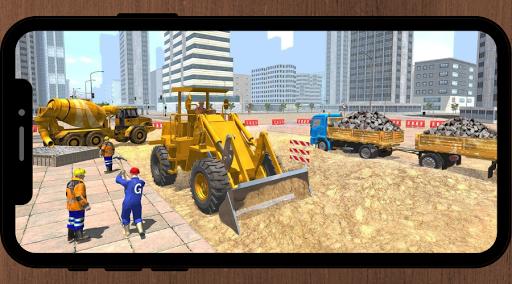 Excavator Game: Construction Game  screenshots 1
