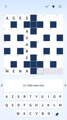 Figaro Jeux : mots croisu00e9s screenshots 6