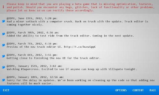 2DMX Motocross 0.2.3.1.0 screenshots 3