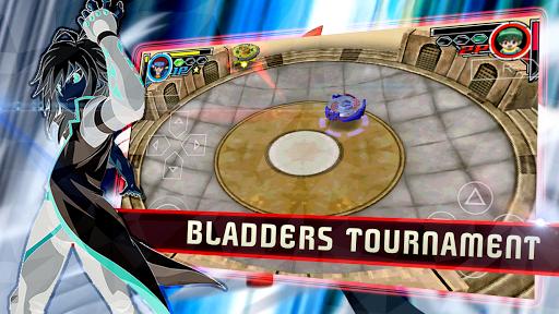 spin blade: metal fight burst 2 screenshot 2