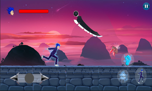 Super Ninja Sonicko Boy Lightning Power 1.0 screenshots 5