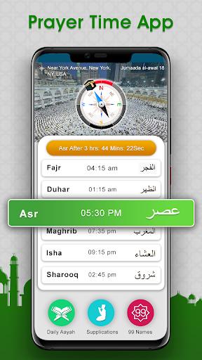 Prayer Times : Salah Time & Qibla Direction 8.1 Screenshots 2