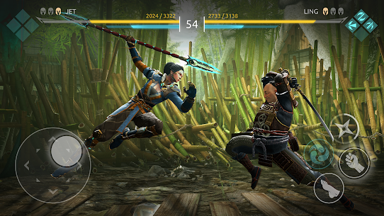 Shadow Fight Arena — PvP Fighting game (MOD APK, High Damage/Freeze Bot) v1.1.10 2
