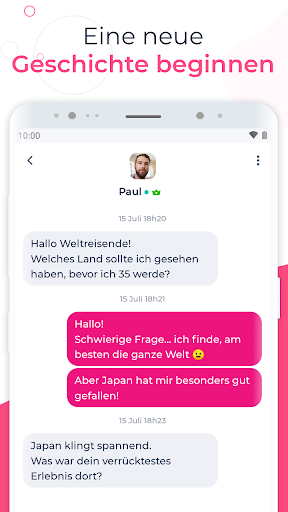 LoveScout24 : Flirt, Chat, Dating App fu00fcr Singles 5.43.2 Screenshots 4