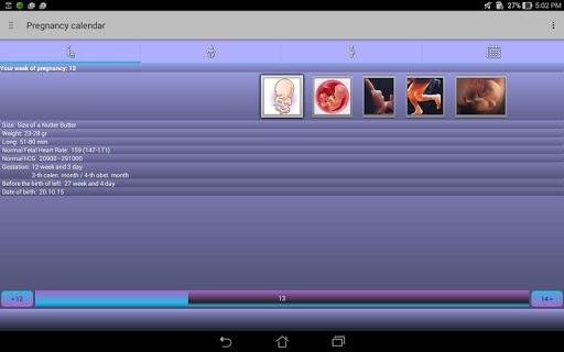 Pregnancy Calendar 2.5.1 Screenshots 9