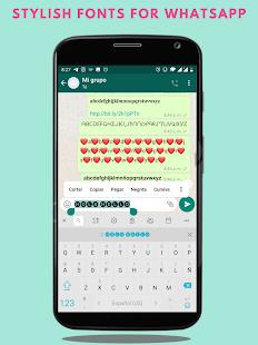 Fonts - Stylish Text & Cool Fonts 1.2.2 Screenshots 5