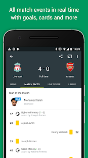 FotMob Pro - Live Soccer Scores Screenshot