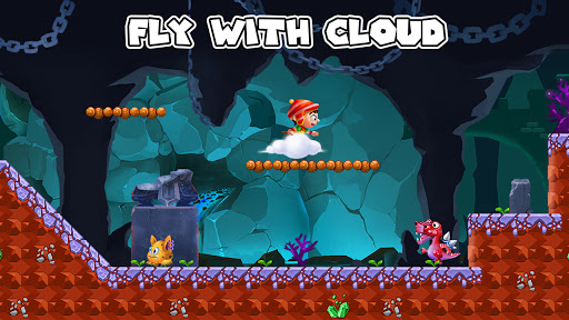 Jungle Bounce - Jump and Run Adventure android2mod screenshots 2