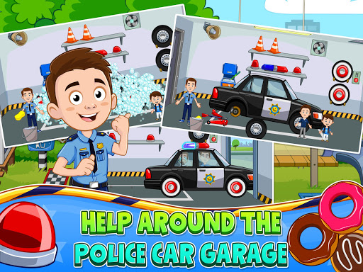 My Town : Police Station. Policeman Game for Kids screenshots 14