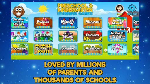 Preschool and Kindergarten Learning Games android2mod screenshots 4
